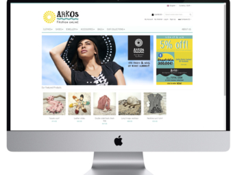 ARKOS – Website & e-shop