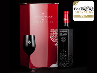Χρυσό βραβείο στα Packaging Innovation Awards '16 για το MESSENICOLA Red Dry Wine