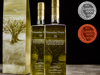 November Fruits Silver & Bronze Award at London IOOC 2016!