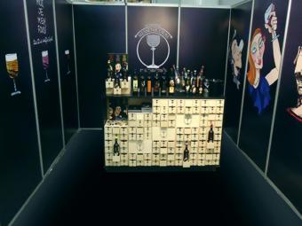 Domaine Monsieur Nicolas – Exhibition Design